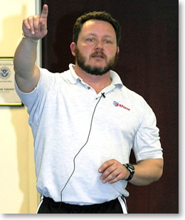 Jay is the president of FitForce™ , Inc., a primary instructor, project director and 'on the ground' person for the FitForce courses and validation studies conducted around the country for local, state and federal law enforcement and public safety agencies.