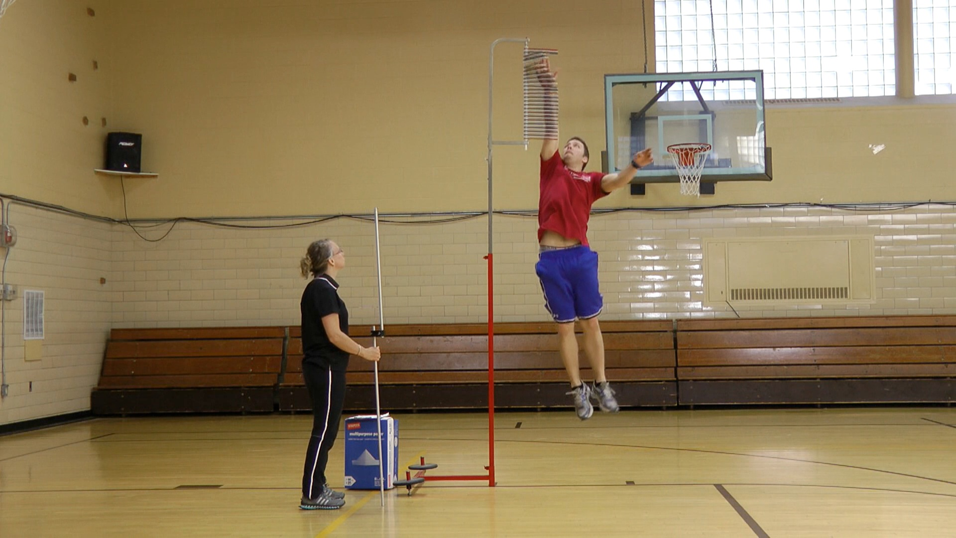 Jump and Reach: Hvor højt springer du?